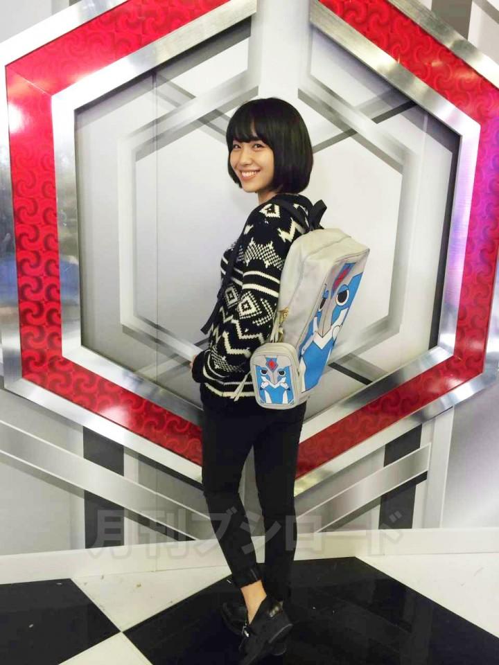 【ブシロードライブ2015目前】声優・愛美×ヴァンガ郎おでかけかばんセット
