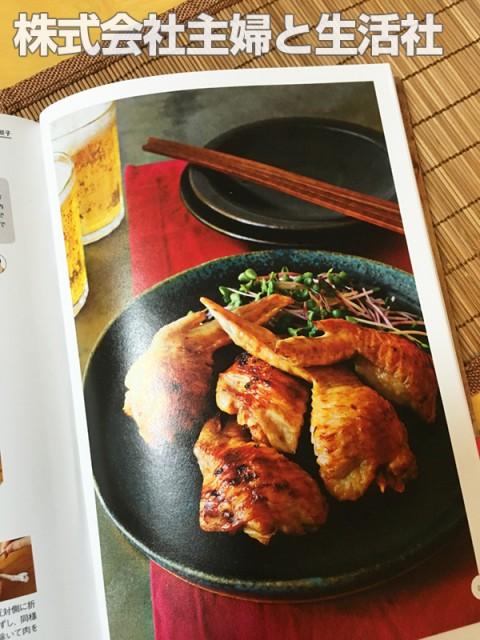 橘田いずみさんの餃子レシピ本『本日も餃子日和。』手羽先キムチ餃子をつくってみました。