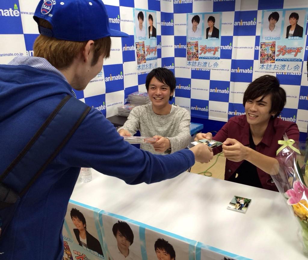 石井さん&榎木さんのお渡し会はガチで神イベントでした!!